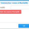 screenshot synology mariadb password 1