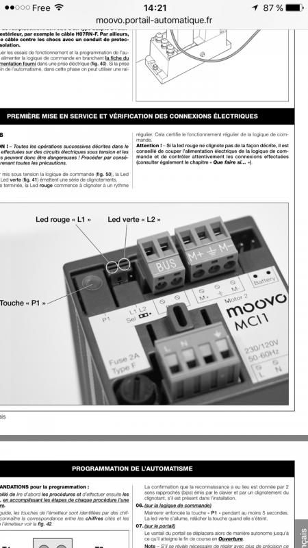 fgs222 et motorisation portail moovo actionneurs ouvrants portail volets domotique. Black Bedroom Furniture Sets. Home Design Ideas